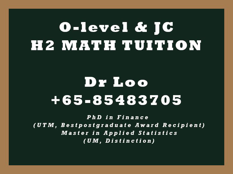 Math Tutoring in Singapore