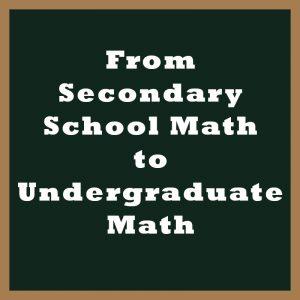 Mathematics Private Tuition Singapore